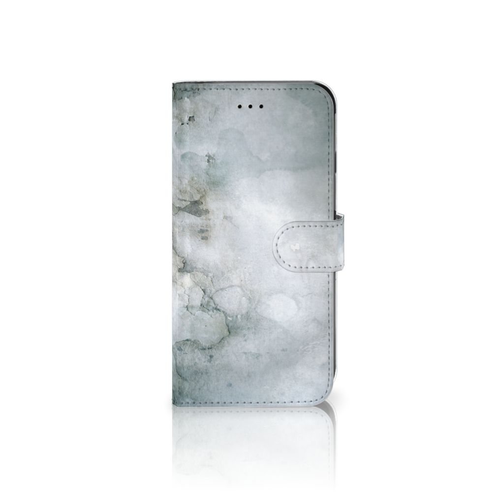 Apple iPhone 6 Plus | 6s Plus Uniek Boekhoesje Painting Grey