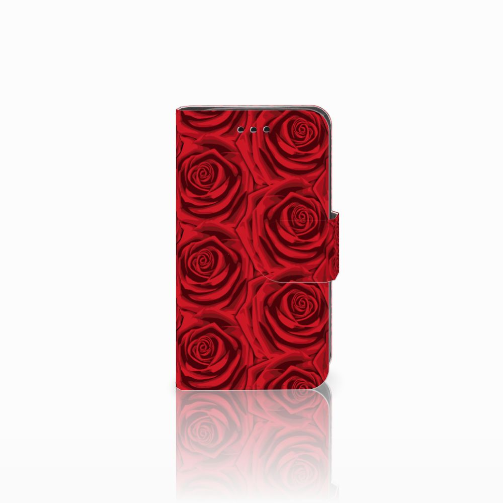 Samsung Galaxy Trend 2 Uniek Boekhoesje Red Roses