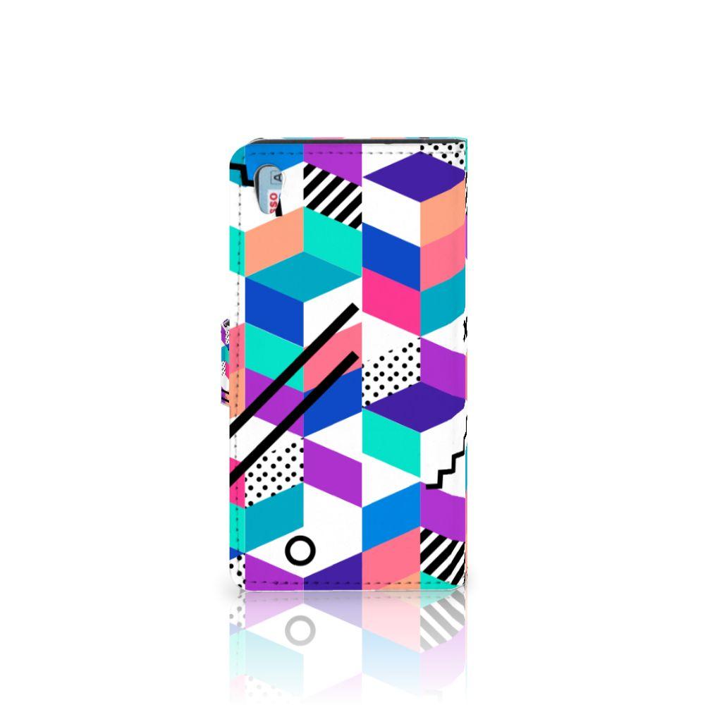 Sony Xperia Z5 | Z5 Dual Bookcase Blokken Kleurrijk