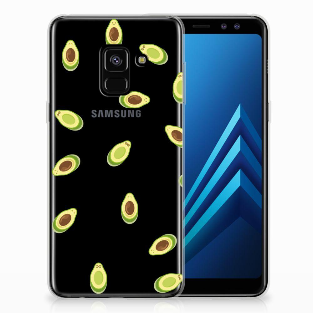Samsung Galaxy A8 (2018) Siliconen Case Avocado
