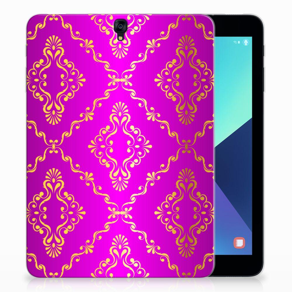 Samsung Galaxy Tab S3 9.7 Uniek Tablethoesje Barok Roze