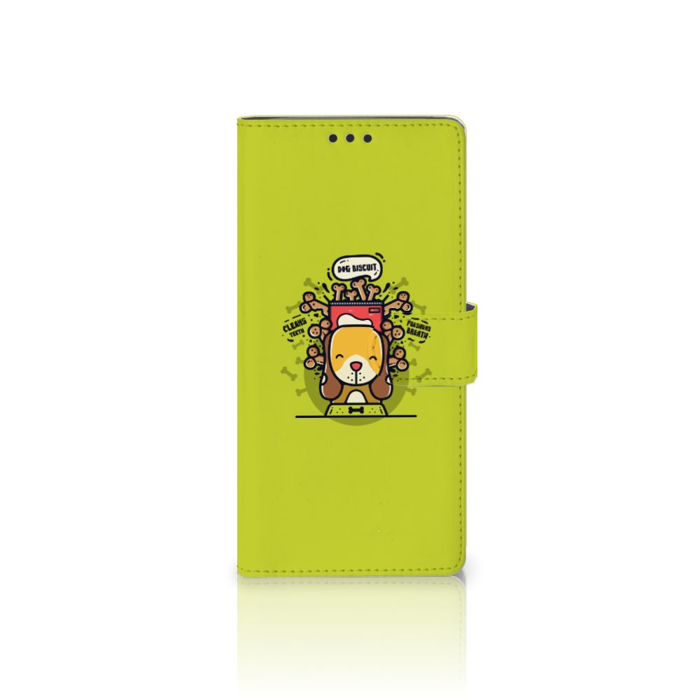 Sony Xperia XA Ultra Boekhoesje Design Doggy Biscuit