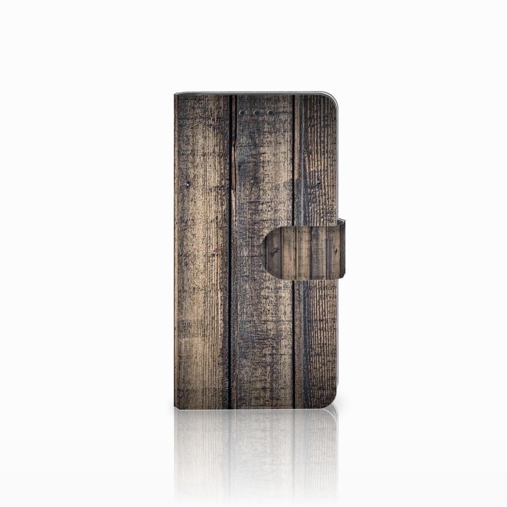 Huawei G8 Boekhoesje Design Steigerhout