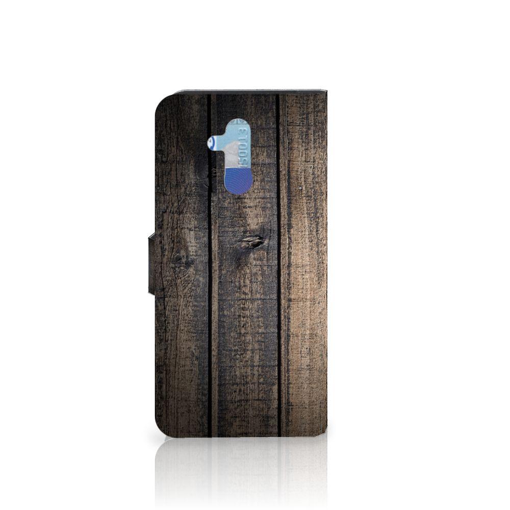 Huawei Mate 20 Lite Book Style Case Steigerhout