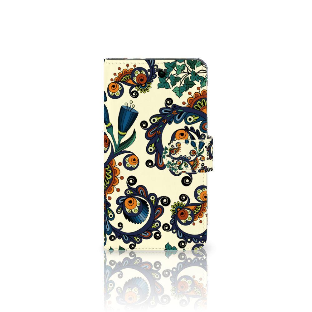 Motorola Moto Z2 Force Boekhoesje Design Barok Flower