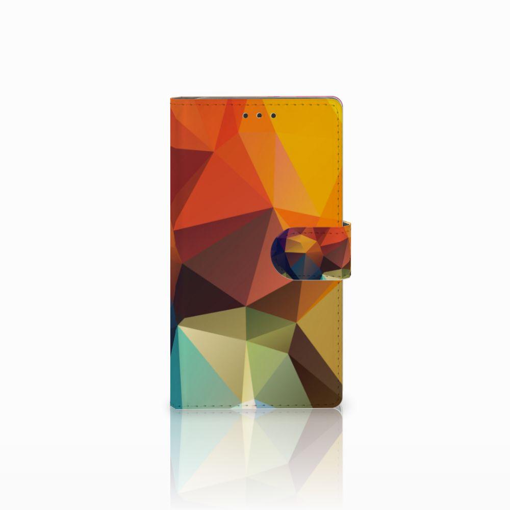 Samsung Galaxy Note 3 Bookcase Polygon Color