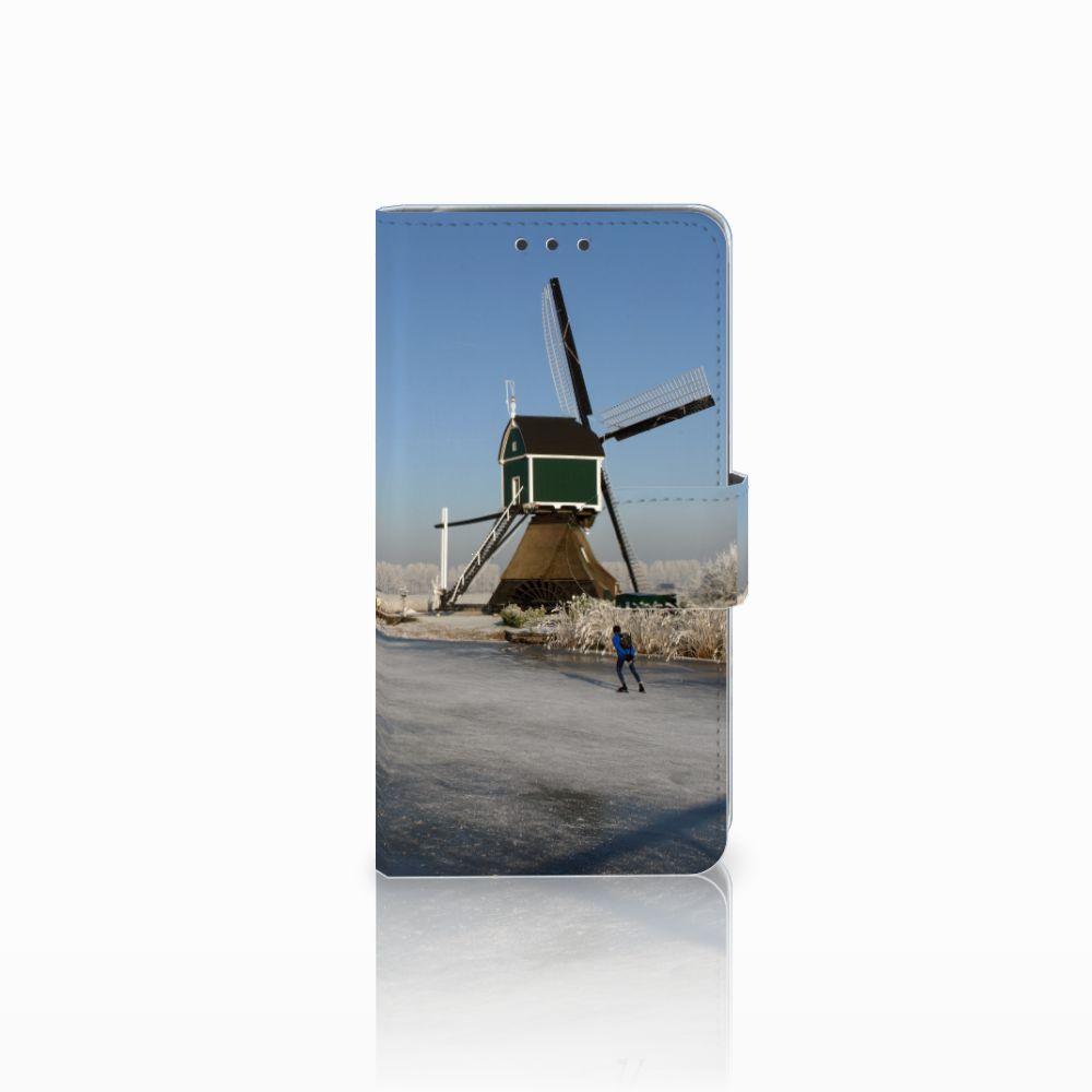 LG Q6 | LG Q6 Plus Boekhoesje Design Schaatsers