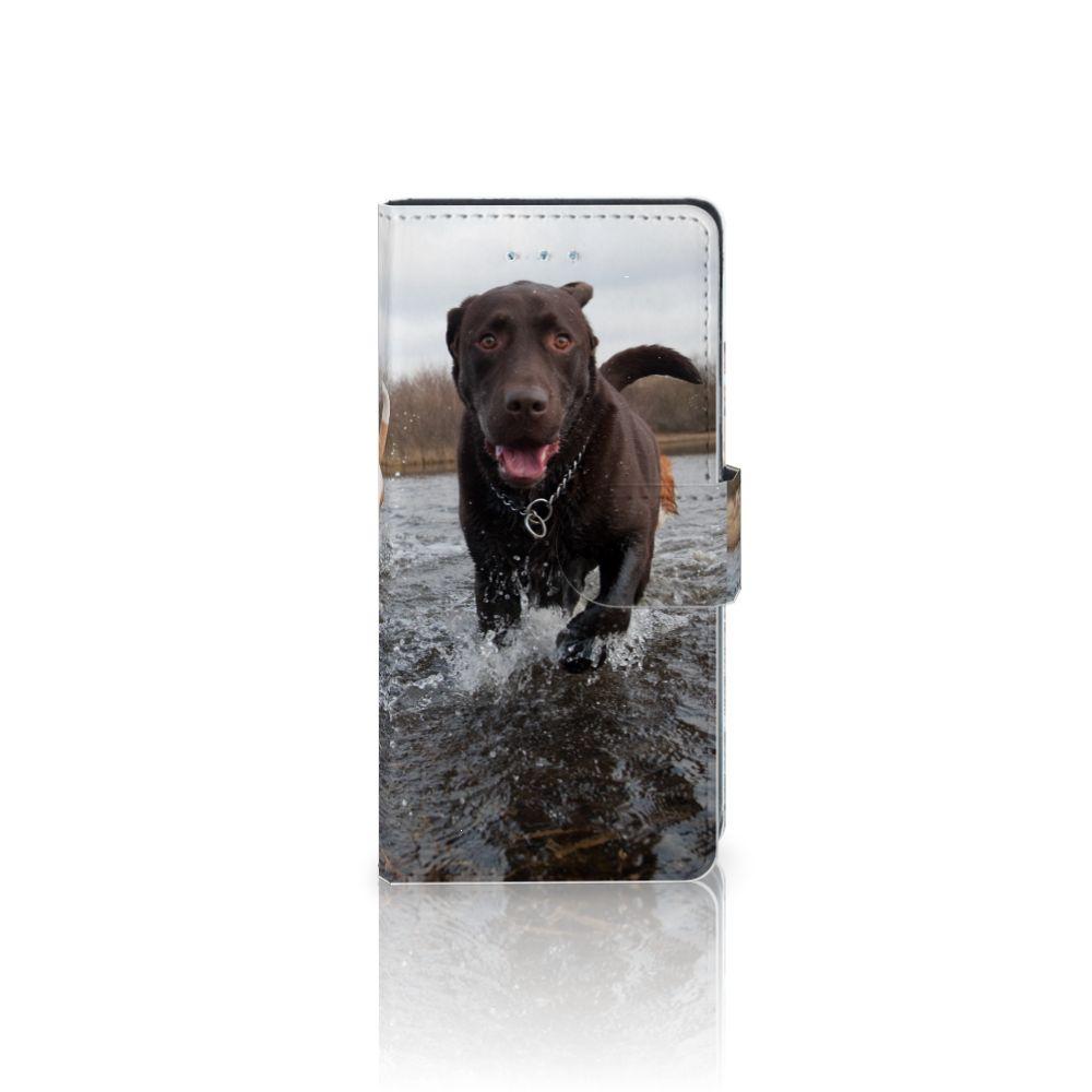 LG Nexus 5X Telefoonhoesje met Pasjes Honden Labrador