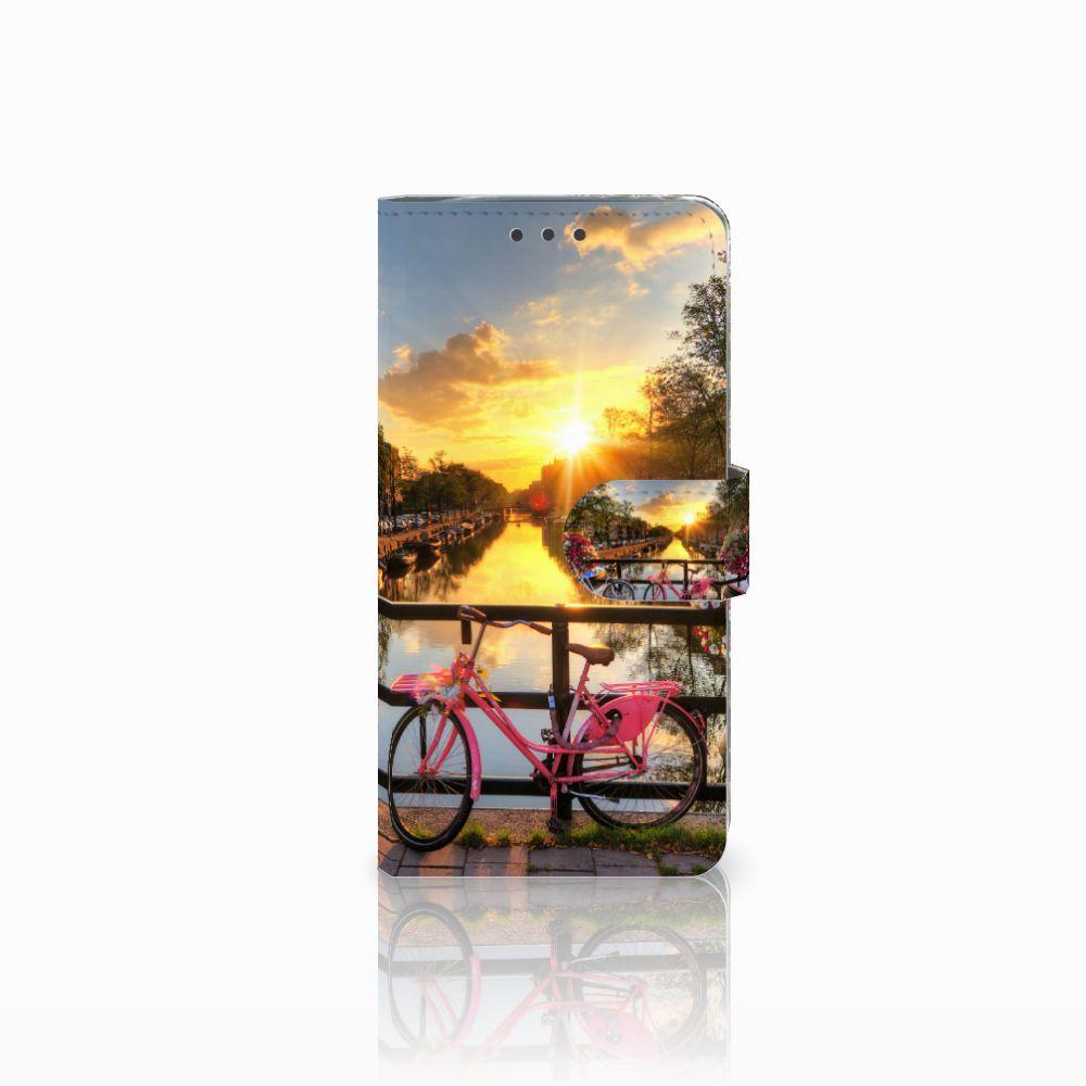 LG G5 Uniek Boekhoesje Amsterdamse Grachten
