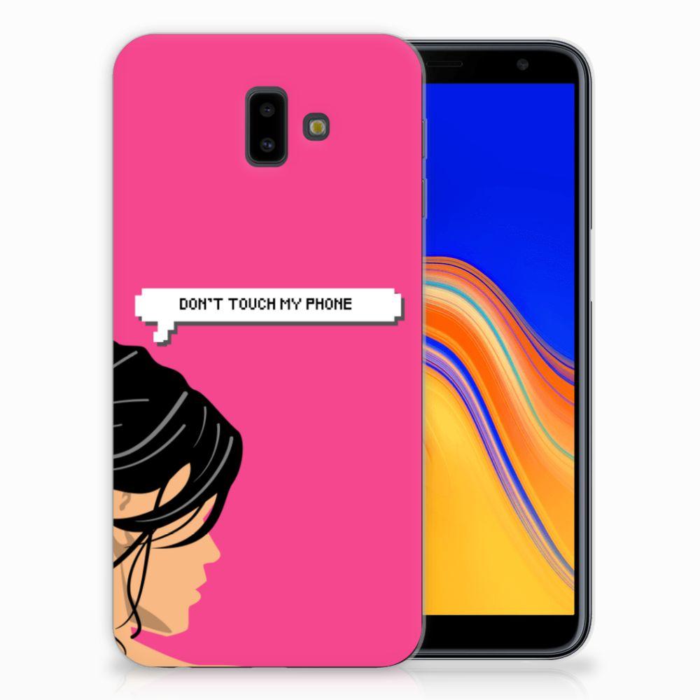 Samsung Galaxy J6 Plus (2018) Uniek TPU Hoesje Woman DTMP