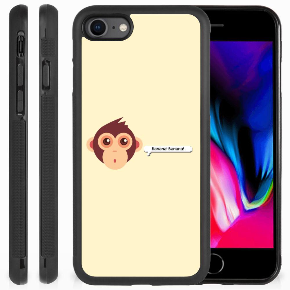 Apple iPhone 7 | 8 Bumper Hoesje Monkey