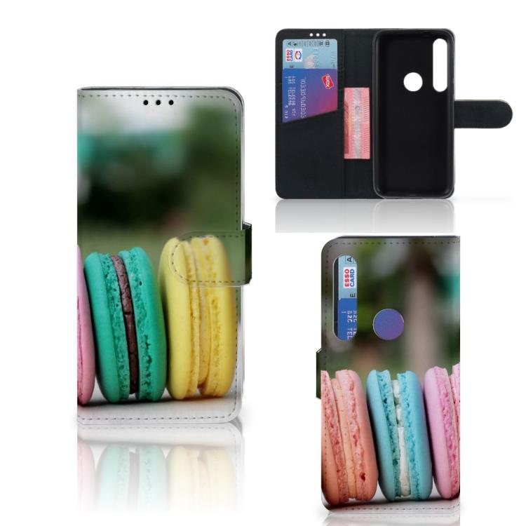 Motorola Moto G8 Plus Book Cover Macarons