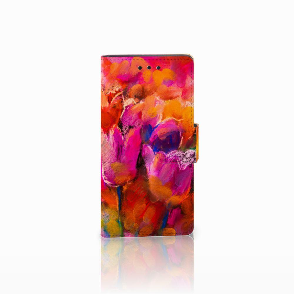 Sony Xperia Z5 Compact Boekhoesje Design Tulips