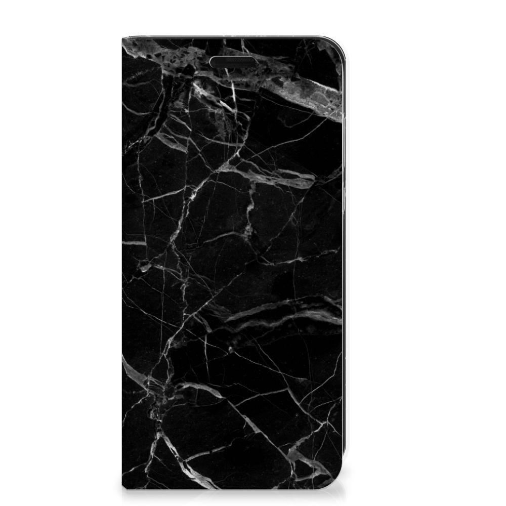 Samsung Galaxy J6 (2018) Standcase Marmer Zwart