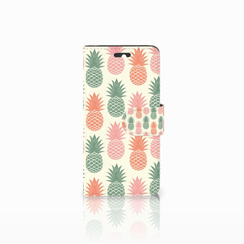 Huawei Ascend Y550 Boekhoesje Design Ananas