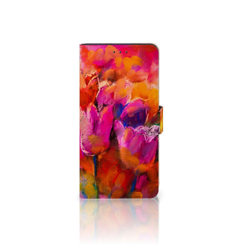 Samsung Galaxy A7 (2018) Boekhoesje Design Tulips