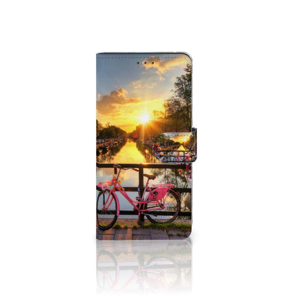 Samsung Galaxy A7 (2018) Uniek Boekhoesje Amsterdamse Grachten