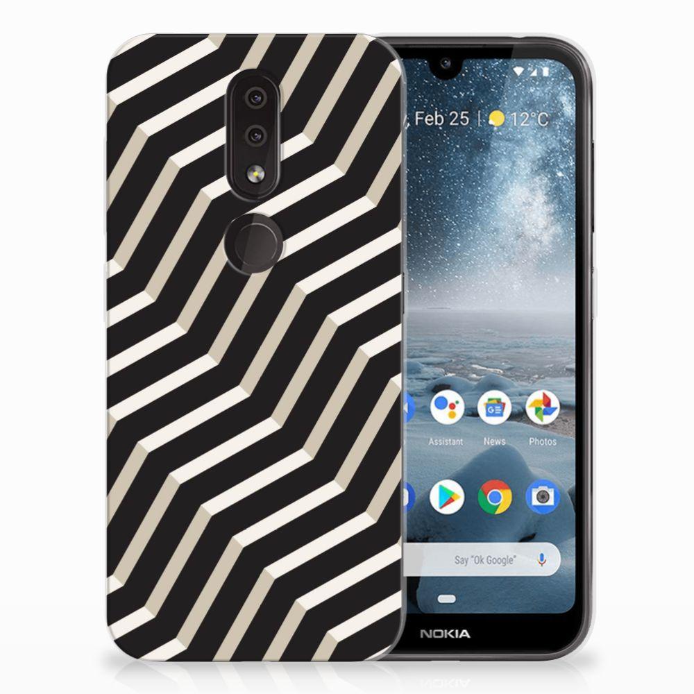 Nokia 4.2 TPU Hoesje Design Illusion