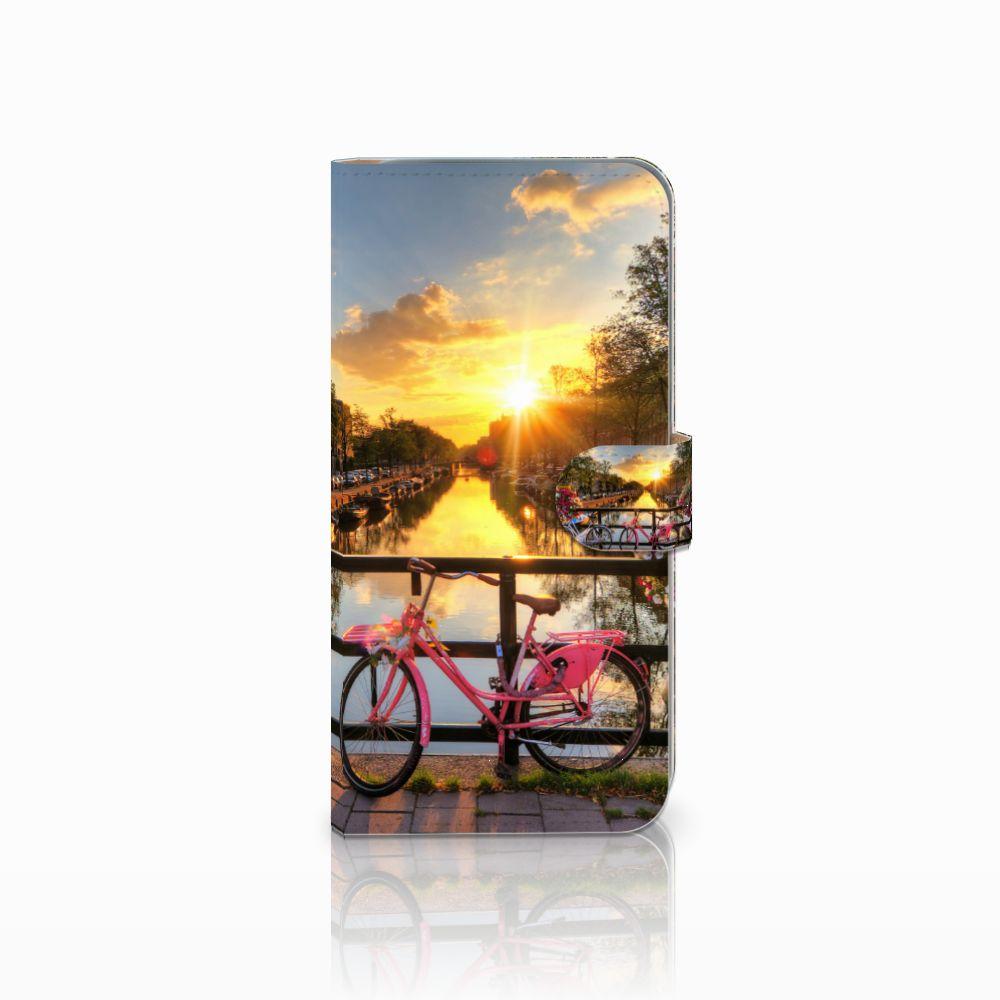 HTC Desire 10 Pro Uniek Boekhoesje Amsterdamse Grachten
