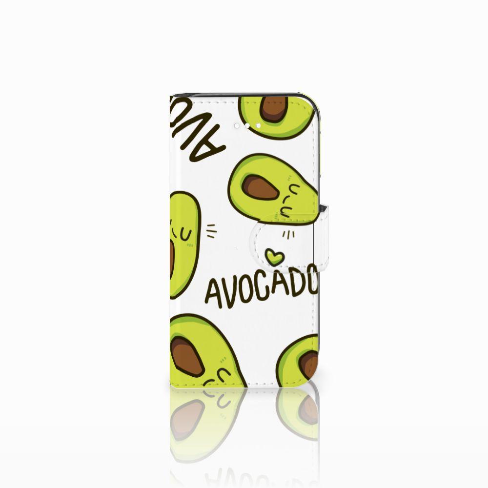Apple iPhone 5 | 5s | SE Leuk Hoesje Avocado Singing