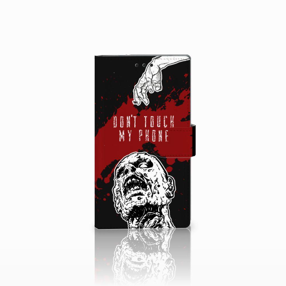 Sony Xperia L2 Boekhoesje Design Zombie Blood