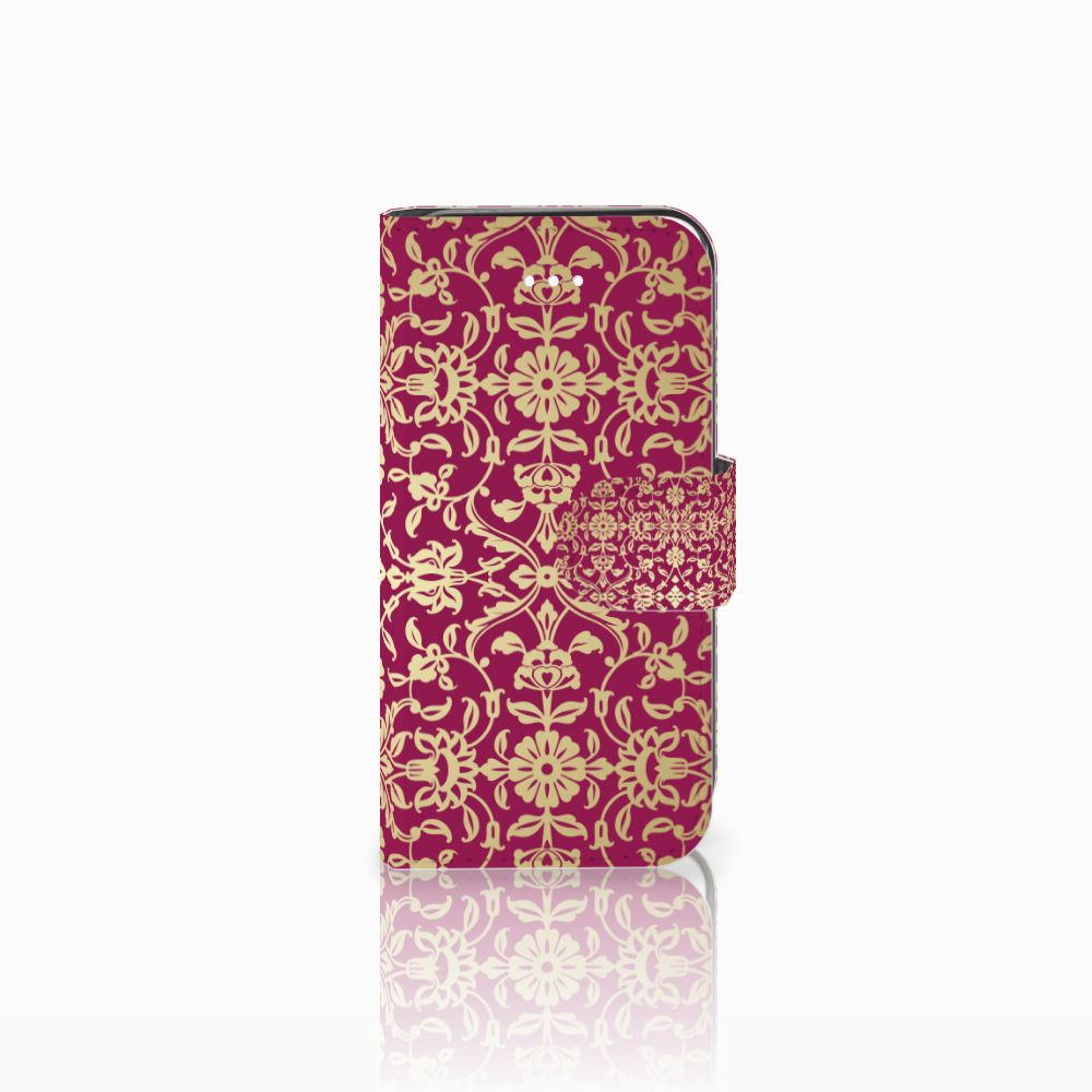 Apple iPhone 5 | 5s | SE Boekhoesje Design Barok Pink