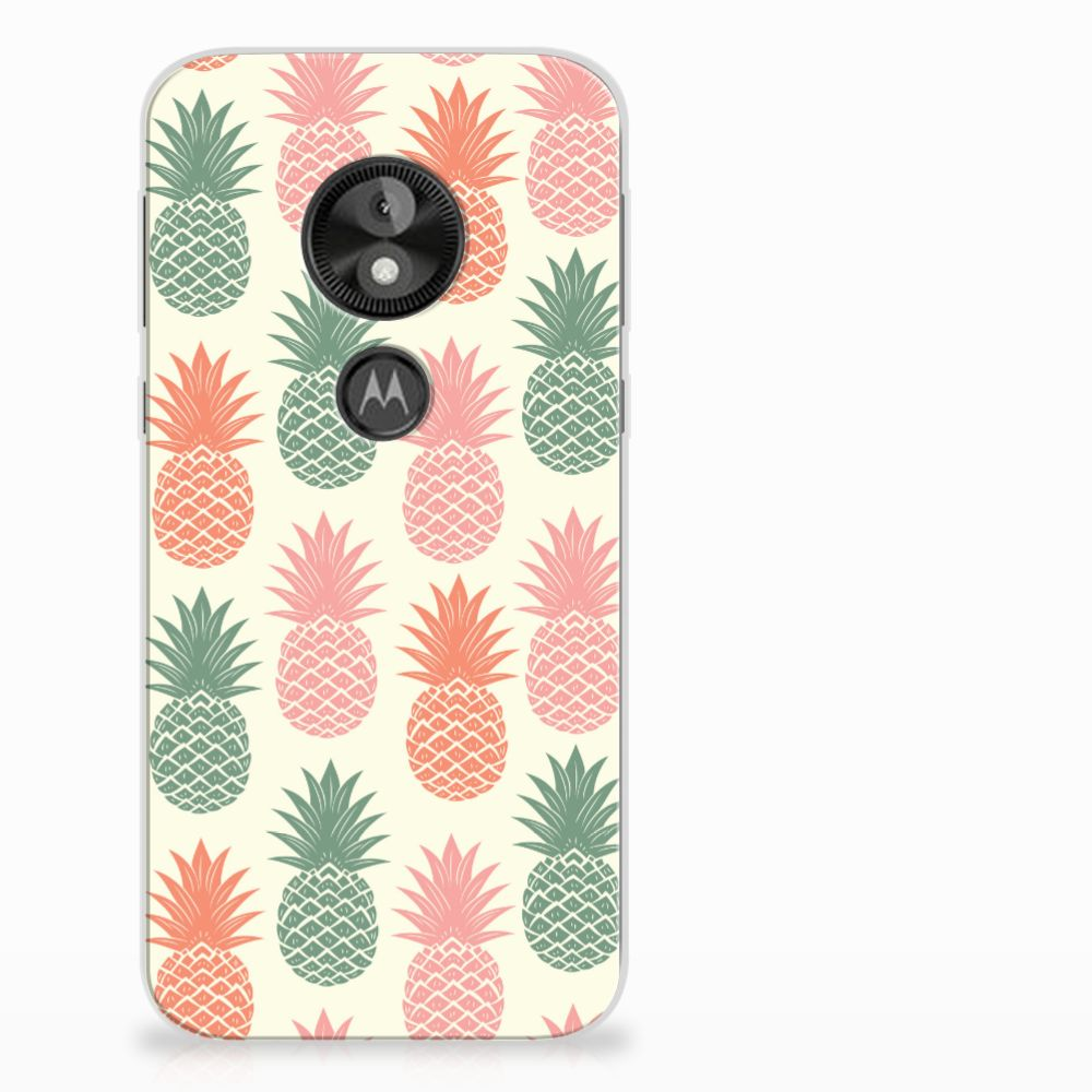 Motorola Moto E5 Play TPU Hoesje Design Ananas