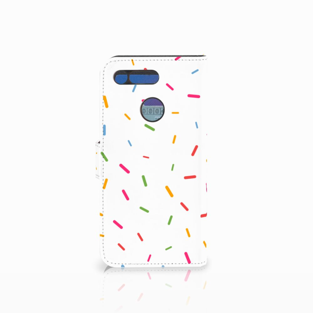 Honor View 20 Book Cover Donut Roze