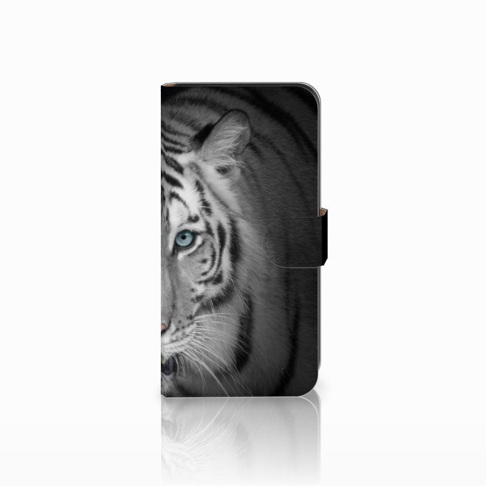 Samsung Galaxy E7 Uniek Boekhoesje Tijger