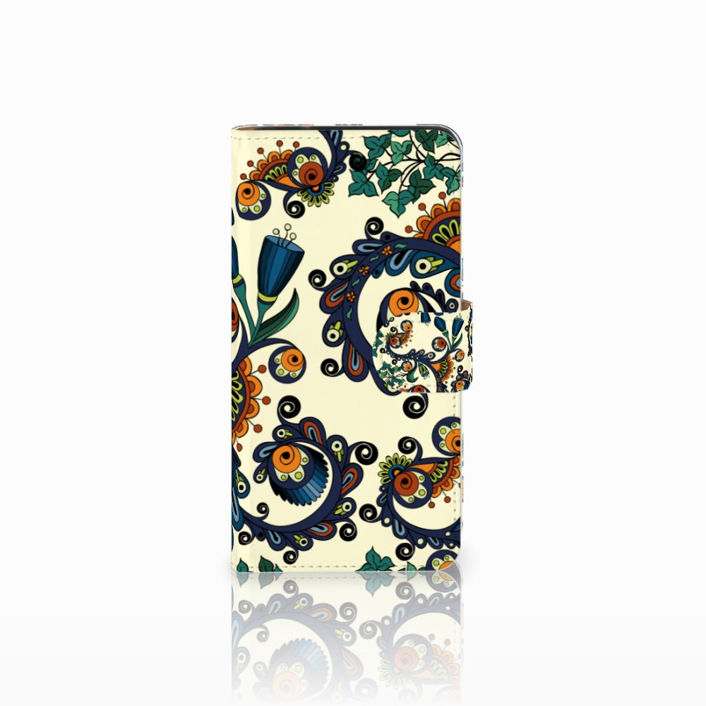 Samsung Galaxy J2 2016 Boekhoesje Design Barok Flower