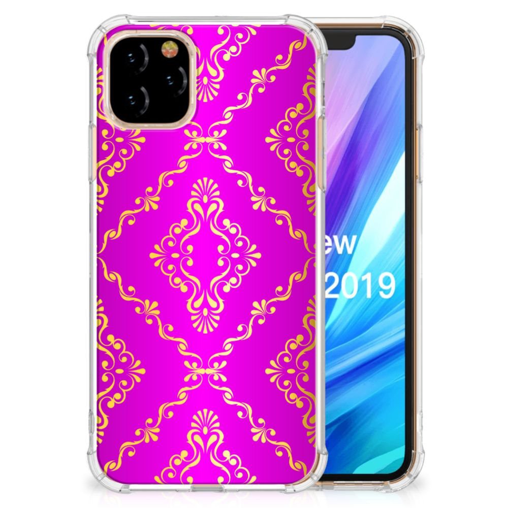 Anti Shock Case Apple iPhone 11 Pro Barok Roze