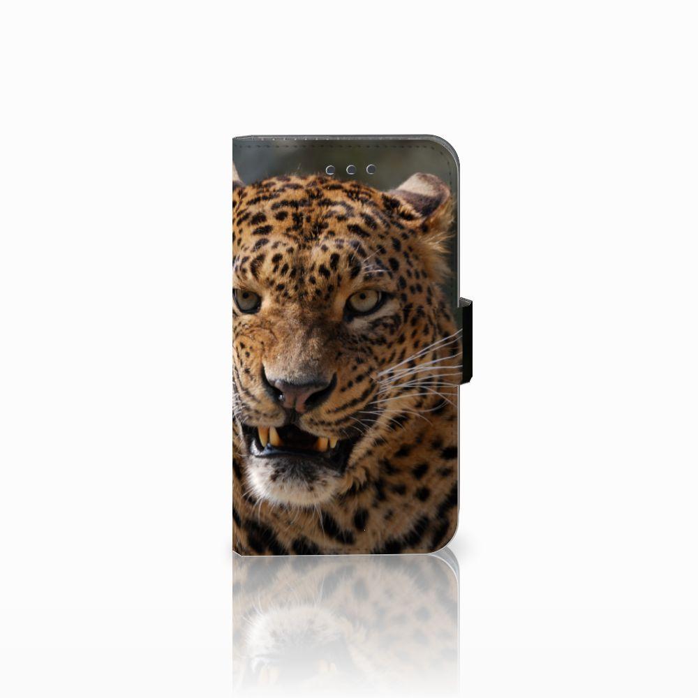 Samsung Galaxy Xcover 3 | Xcover 3 VE Telefoonhoesje met Pasjes Luipaard