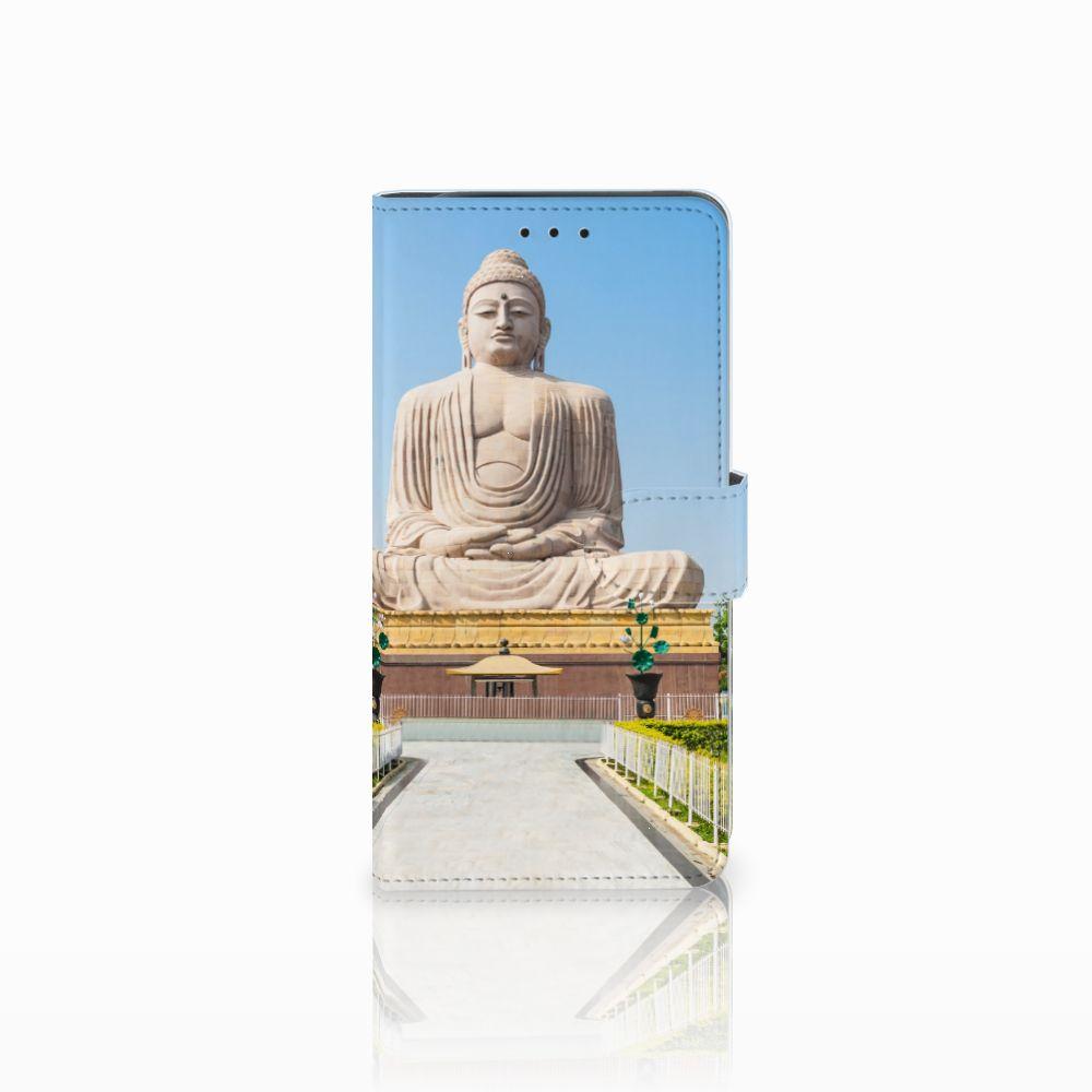 Samsung Galaxy J6 Plus (2018) Flip Cover Boeddha