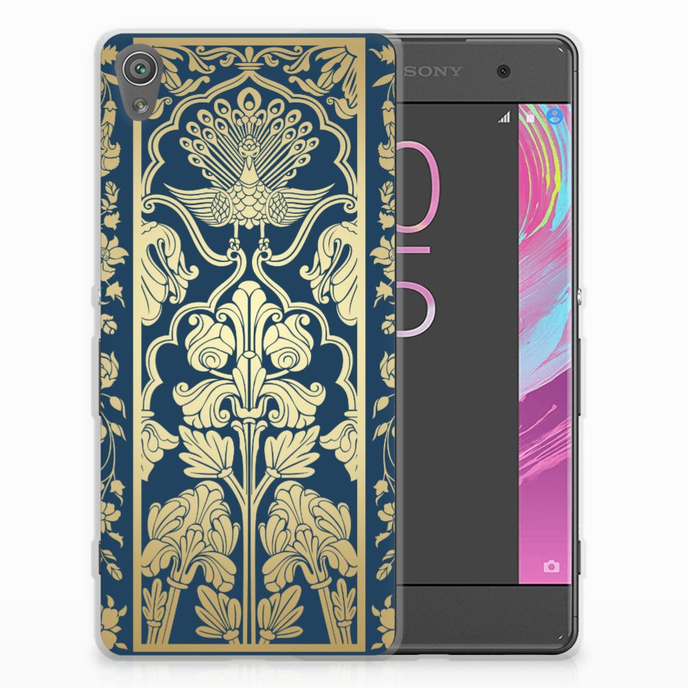 Sony Xperia XA | XA Dual TPU Hoesje Golden Flowers