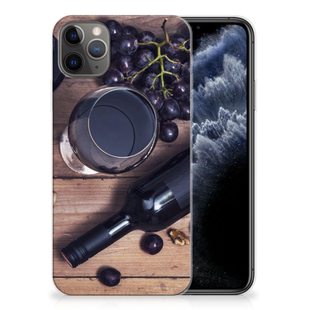 Apple iPhone 11 Pro Max Siliconen Case Wijn