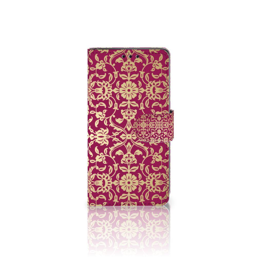 Wallet Case Sony Xperia Z5 | Z5 Dual Barok Pink