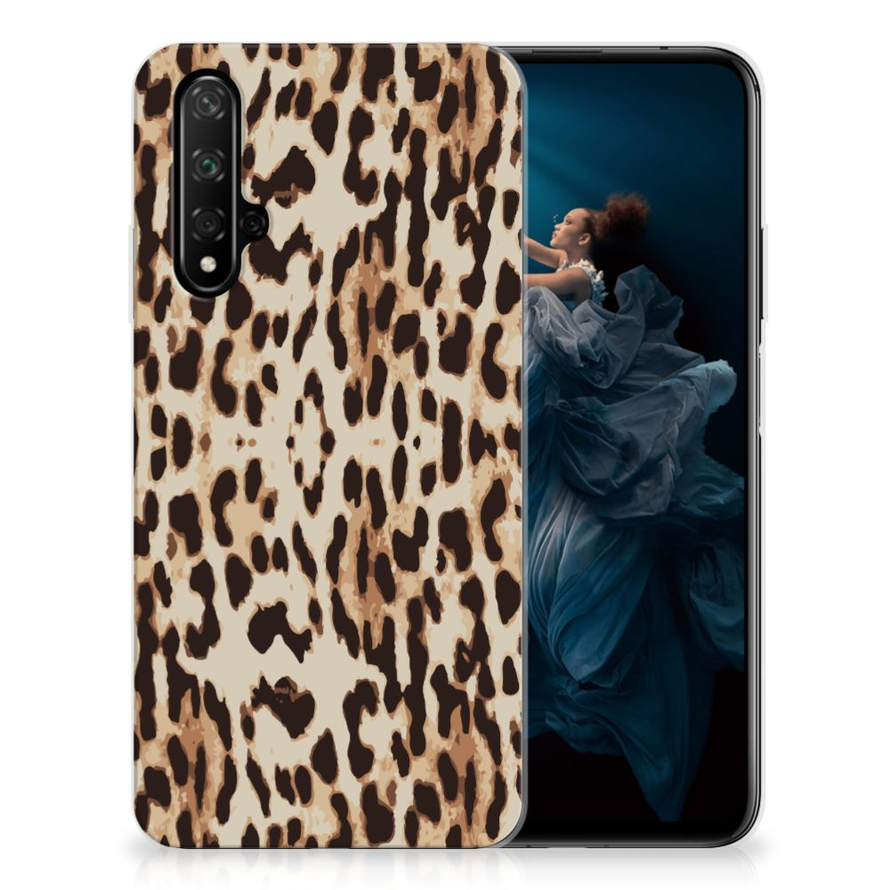 Honor 20 TPU Hoesje Leopard