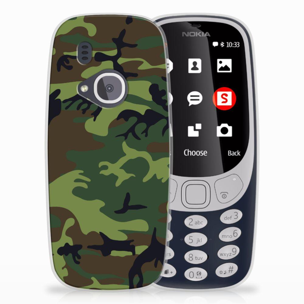 Nokia 3310 (2017) TPU Hoesje Design Army Dark