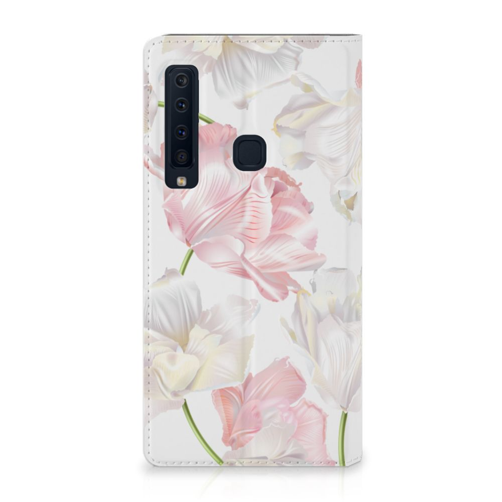 Samsung Galaxy A9 (2018) Standcase Hoesje Design Lovely Flowers