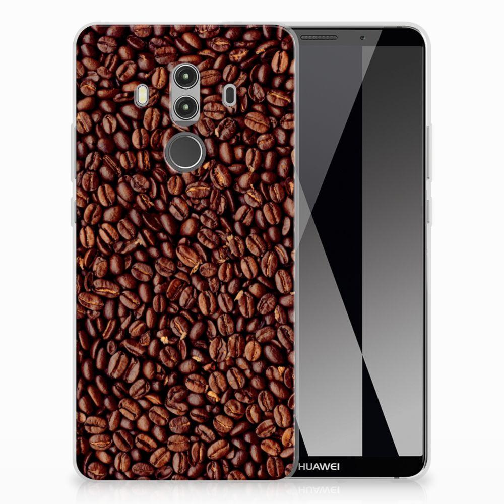 Huawei Mate 10 Pro Uniek TPU Hoesje Koffiebonen