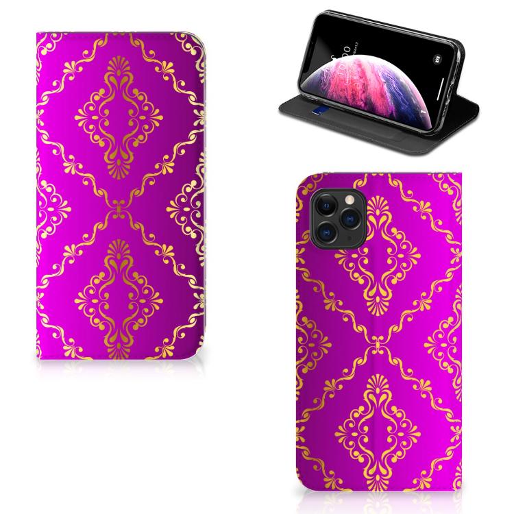 Telefoon Hoesje Apple iPhone 11 Pro Max Barok Roze