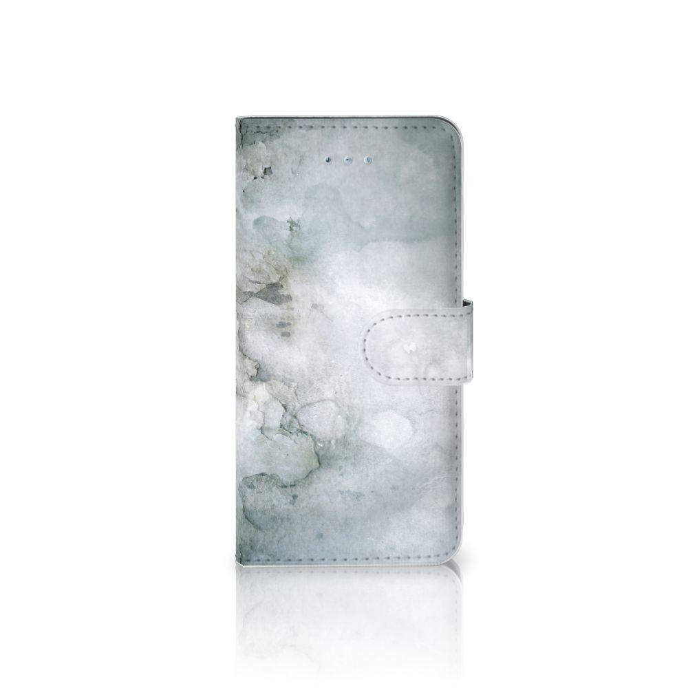 Honor 4A | Y6 Uniek Boekhoesje Painting Grey