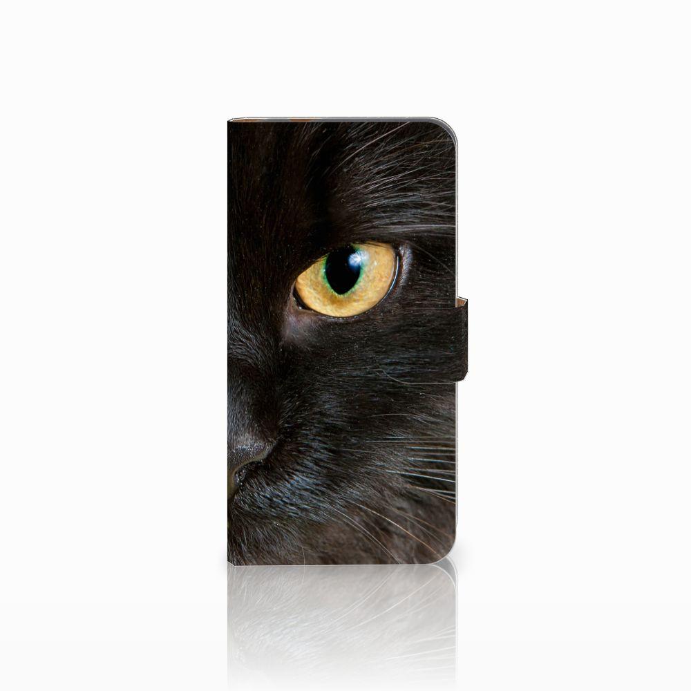 Huawei Nova Plus Uniek Boekhoesje Zwarte Kat