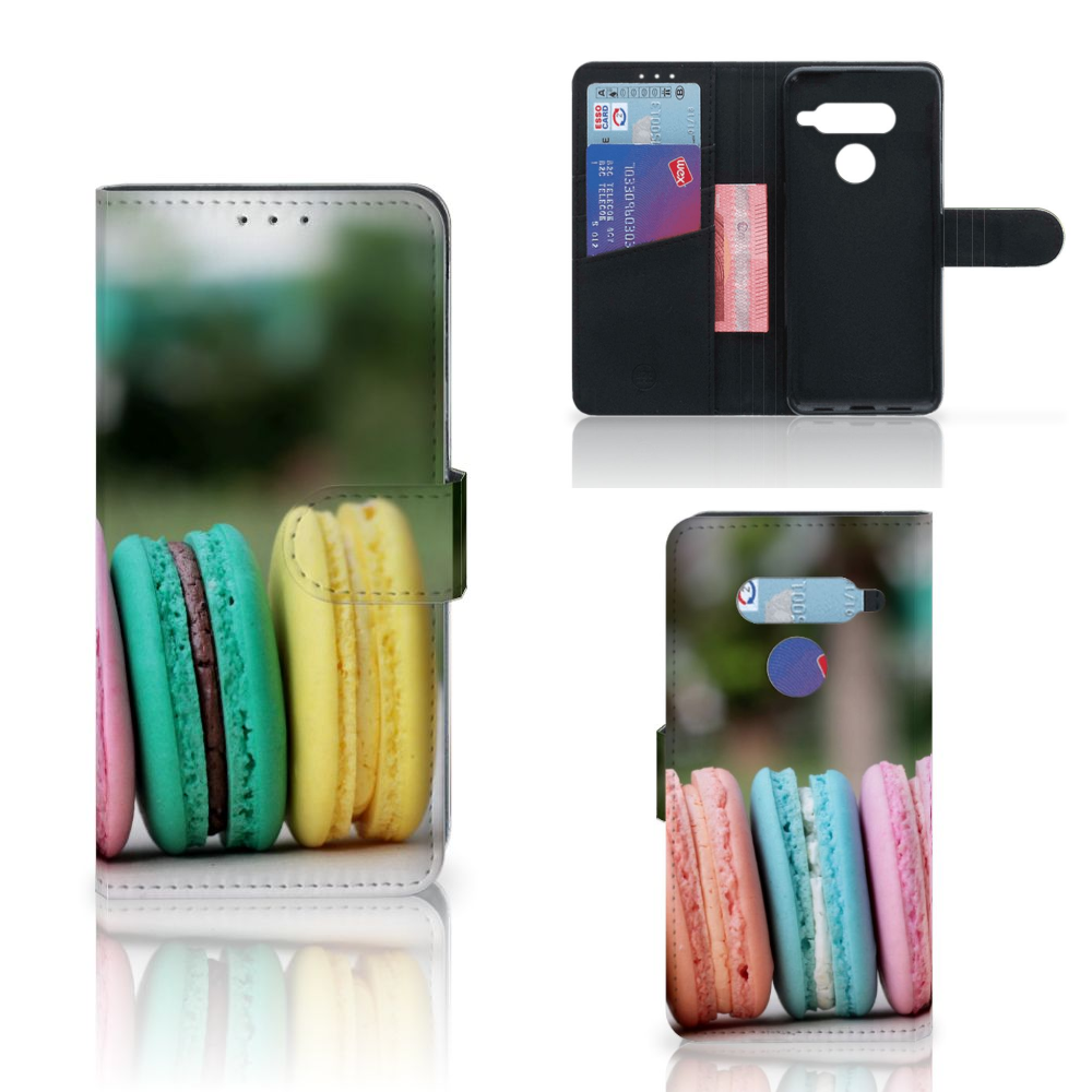 LG V40 Thinq Book Cover Macarons