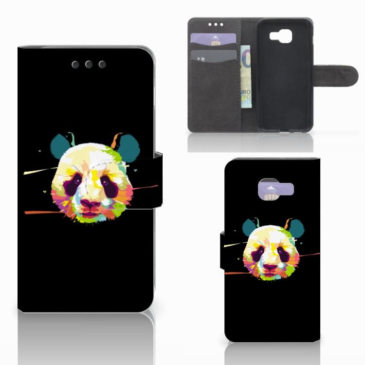 Samsung Galaxy A3 2016 Leuke Hoesje Panda Color