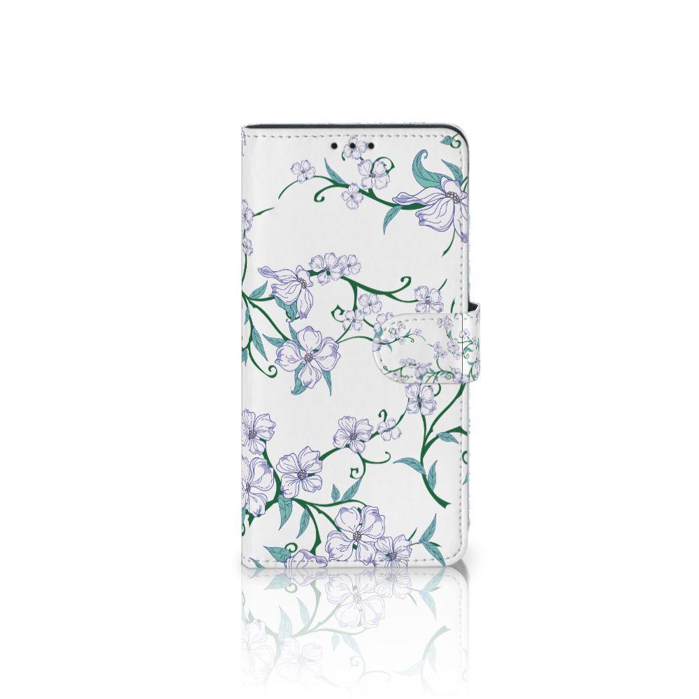 Samsung Galaxy J4 Plus (2018) Uniek Boekhoesje Blossom White