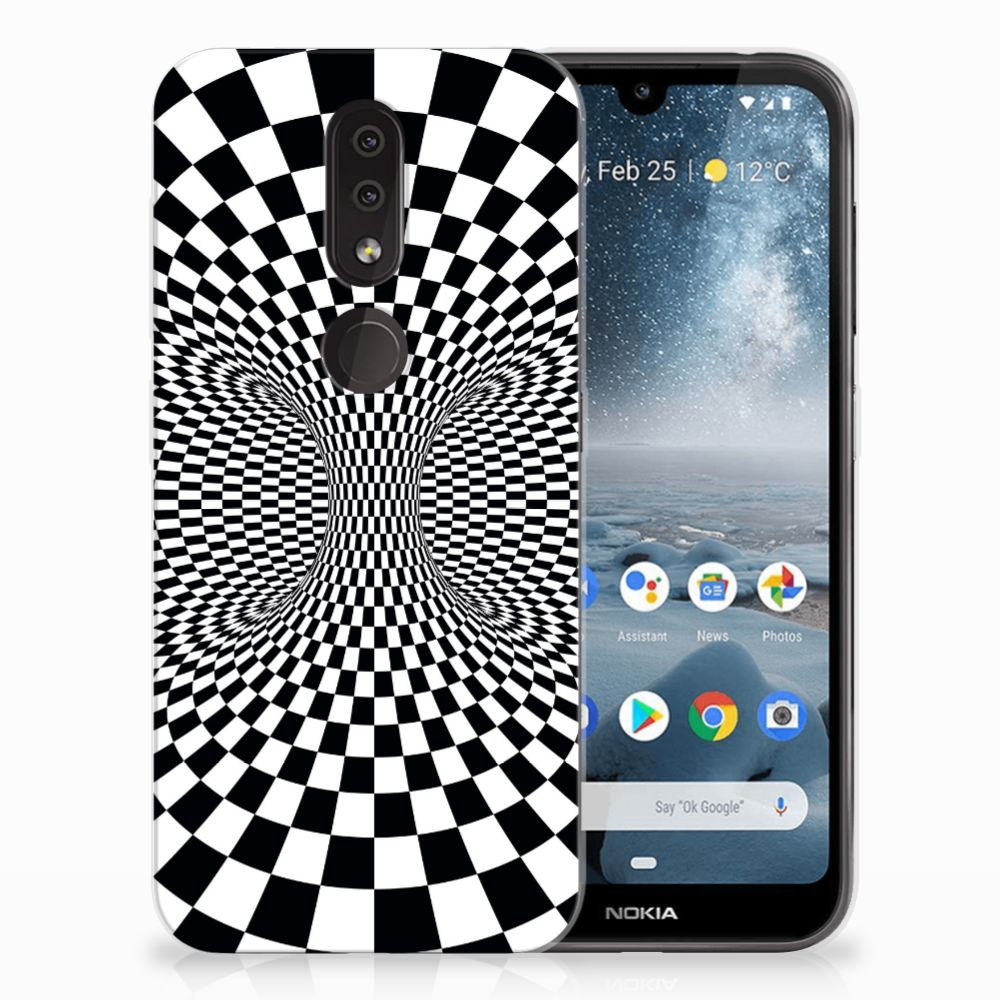 Nokia 4.2 TPU Hoesje Design Illusie