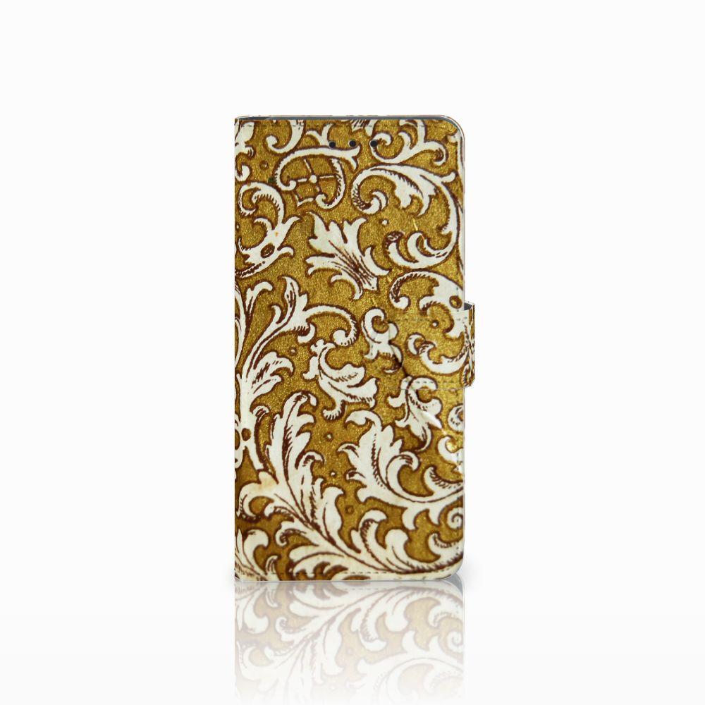 Wallet Case Huawei Mate 20 Pro Barok Goud