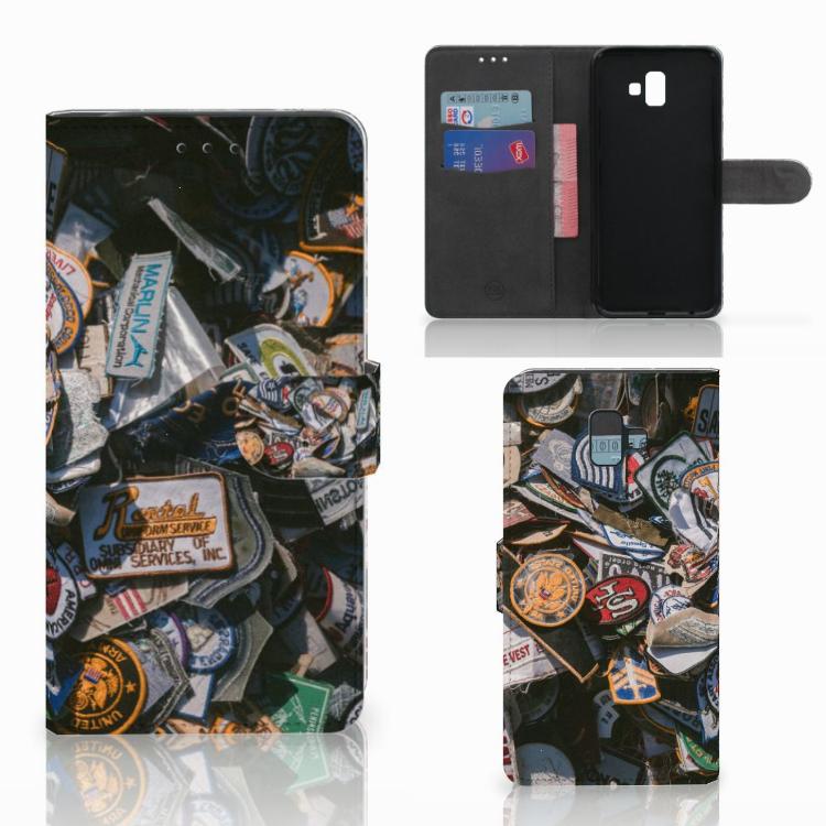 Samsung Galaxy J6 Plus (2018) Telefoonhoesje met foto Badges
