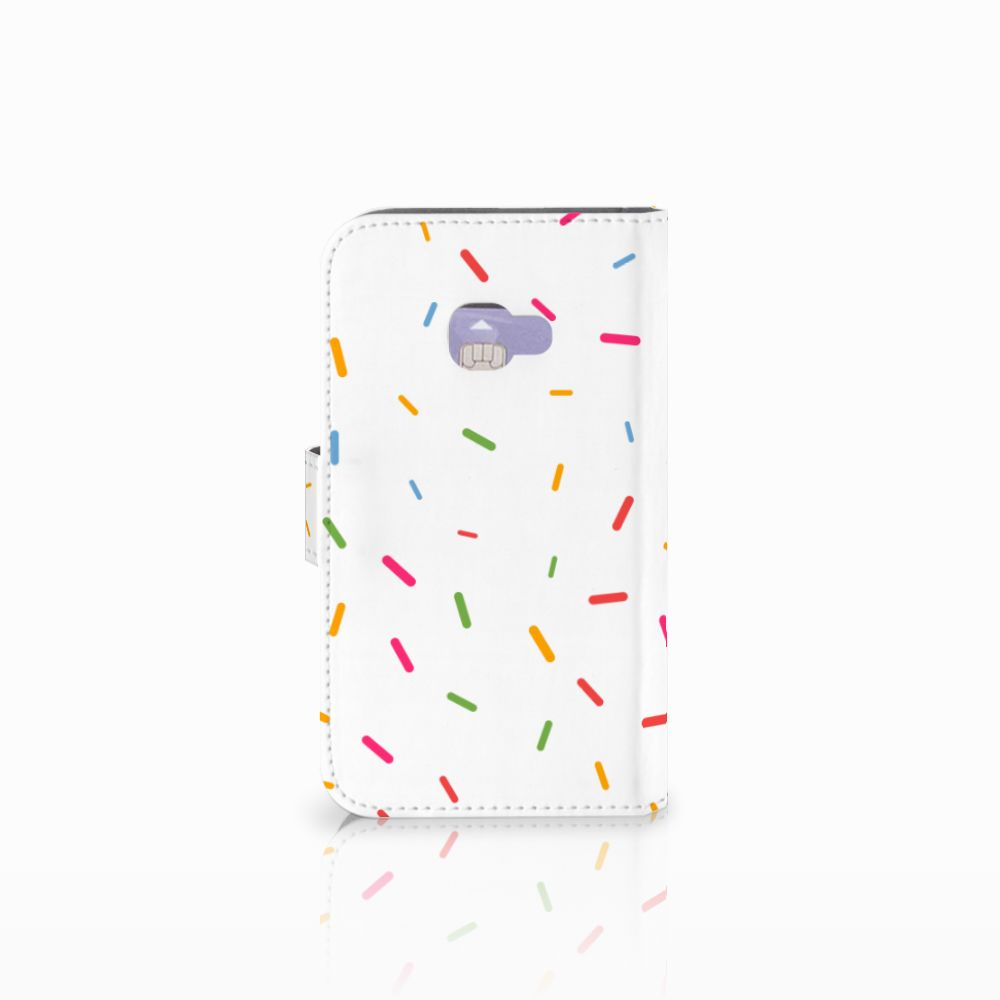 Samsung Galaxy Xcover 4 | Xcover 4s Book Cover Donut Roze